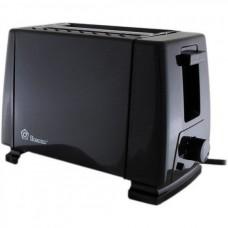 Тостер на 2 отделения с поддоном для крошек Domotec MS-3230 Black (650 Вт)