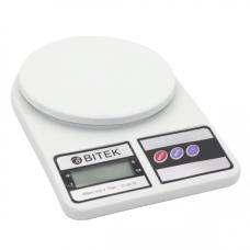 Весы кухонные электронные ВІТЕК SF-400 до 10 кг от 1г Белые