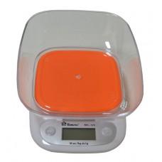 Весы кухонные электронные с чашей до 7 кг Domotec MS-125 Orange