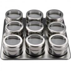 Набор для специй на магнитной подставке 9 шт. Porta Condimento BN-007
