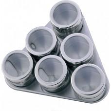 Набор для специй 6 шт. на магнитной подставке Porta Condimento BN-006