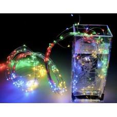 Гирлянда Лучи росы или Конский хвост 2 м 200 LED 10 нитей Light Technology Limited Разноцветная