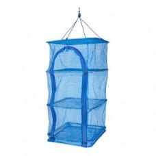 Сушка складная сетка 30х30х60 см сушилка для рыбы, грибов, фруктов и овощей Stenson