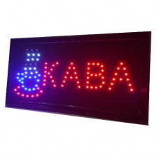 """Вывеска светодиодная LED Contour Pro """"КАВА"""" 48 на 25 см"""
